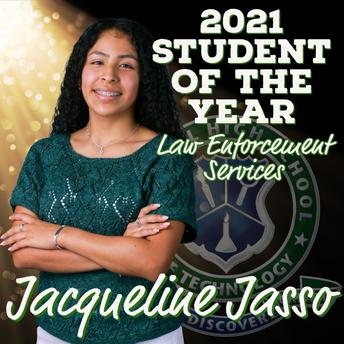 Jacqueline Jasso, Law Enforcement Services SOY