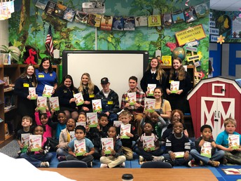LaGrange High FFA Spreads Literacy with the Mobile Book Barn