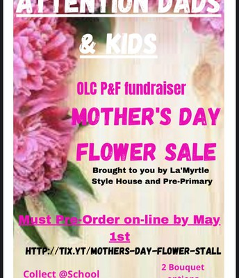 PREORDER YR MOTHERS DAY FLOWERS!