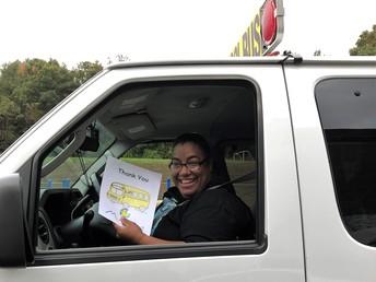Bus Driver Appreciation at Shawsheen Preschool