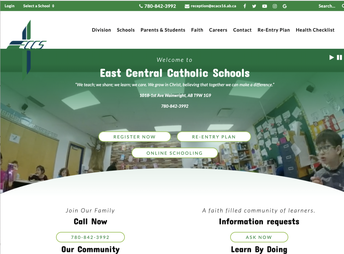 School Division Website and Newsletter Transition