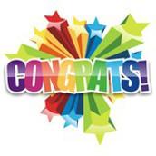 Congratulations Allie Salsbury