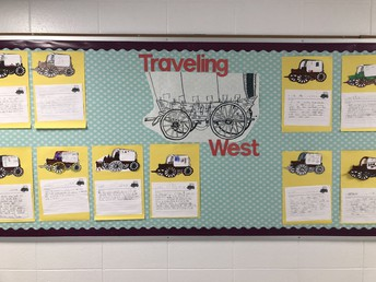 Traveling West- 2nd grade
