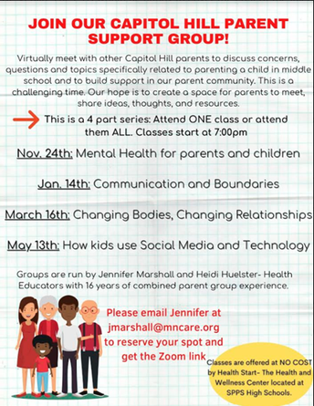 """Middle School Parents Discuss """"How Kids Use Social Media and Technology"""" on Thursday, May 13th from 7 - 8:30p"""