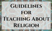 Guidelines for Teaching About Religion