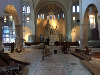 CATHEDRAL RENOVATION NEWS