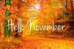 Week of November 2 - 6
