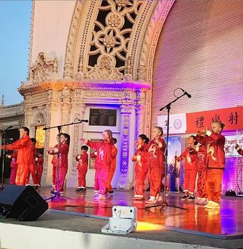 Adobe Bluffs Mandarin FLES and Immersion Students Perform at Balboa