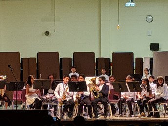 Our band performing...