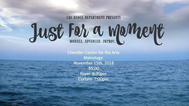 CHS Dance Concert Flyer