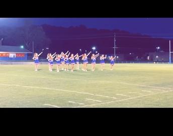 Way to go cheerleaders!