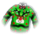 Wednesday-Ugly Sweater Day