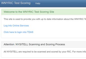 NYSITELL Printing, Scanning, and Scoring