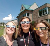 Eclipse 2017 with Ms. Edwards and Ms. Loomis!