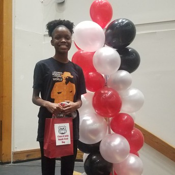 Student of the Month: October
