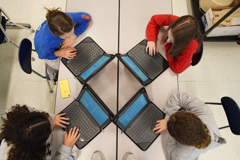 Avonworth Middle and High School Students Participate in Coding Activities During Computer Science Education Week