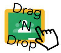 Drag and Drop Feature on the Coursework Page