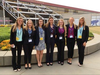 DECA National Competitiors