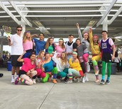 80's Dress Up Day