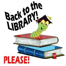Library books due by Friday, May 11th!