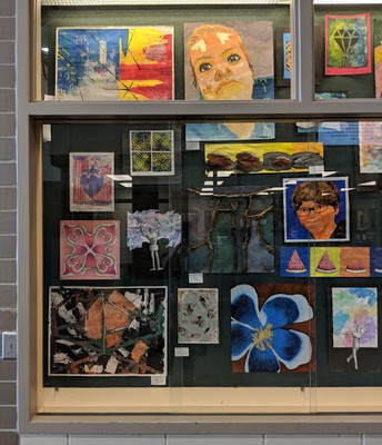 Youth Art Month  - Sixth & Seventh Grades
