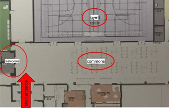 Footprint layout