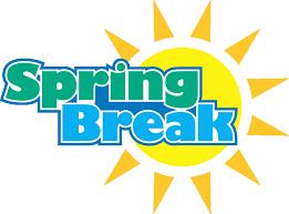 No School March 22-26: Spring Break