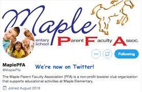 Maple Parent Faculty Association