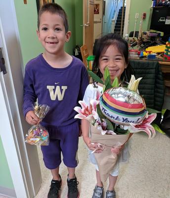 Gifts from Kindergarten