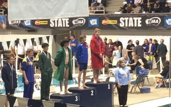State Diving Champion - Elijah Drew