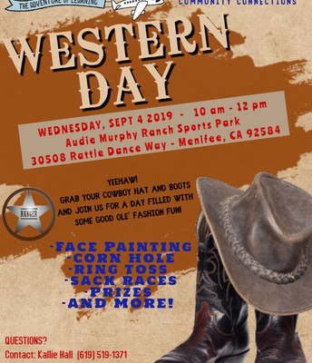 Inspire's COMMUNITY CONNECTIONS EVENT: Western Park Day Menifee!