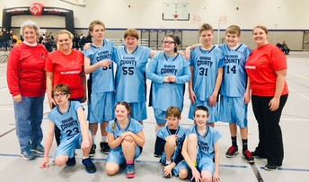 Special Olympics Game on February 17