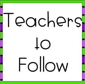 Teachers to Follow