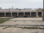 A.C. Blunt after Hurricane Harvey