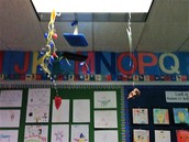 Some of our Calder inspired mobiles