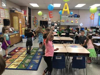 First grade class builder!