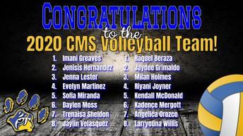 CMS VolleyBall Team