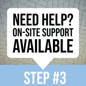 ON-SITE SUPPORT GRAPHIC