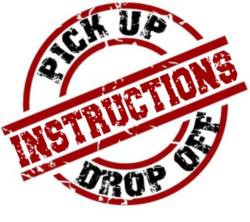 Materials Pick-Up/Drop-Off  - Wednesday,  May 20th