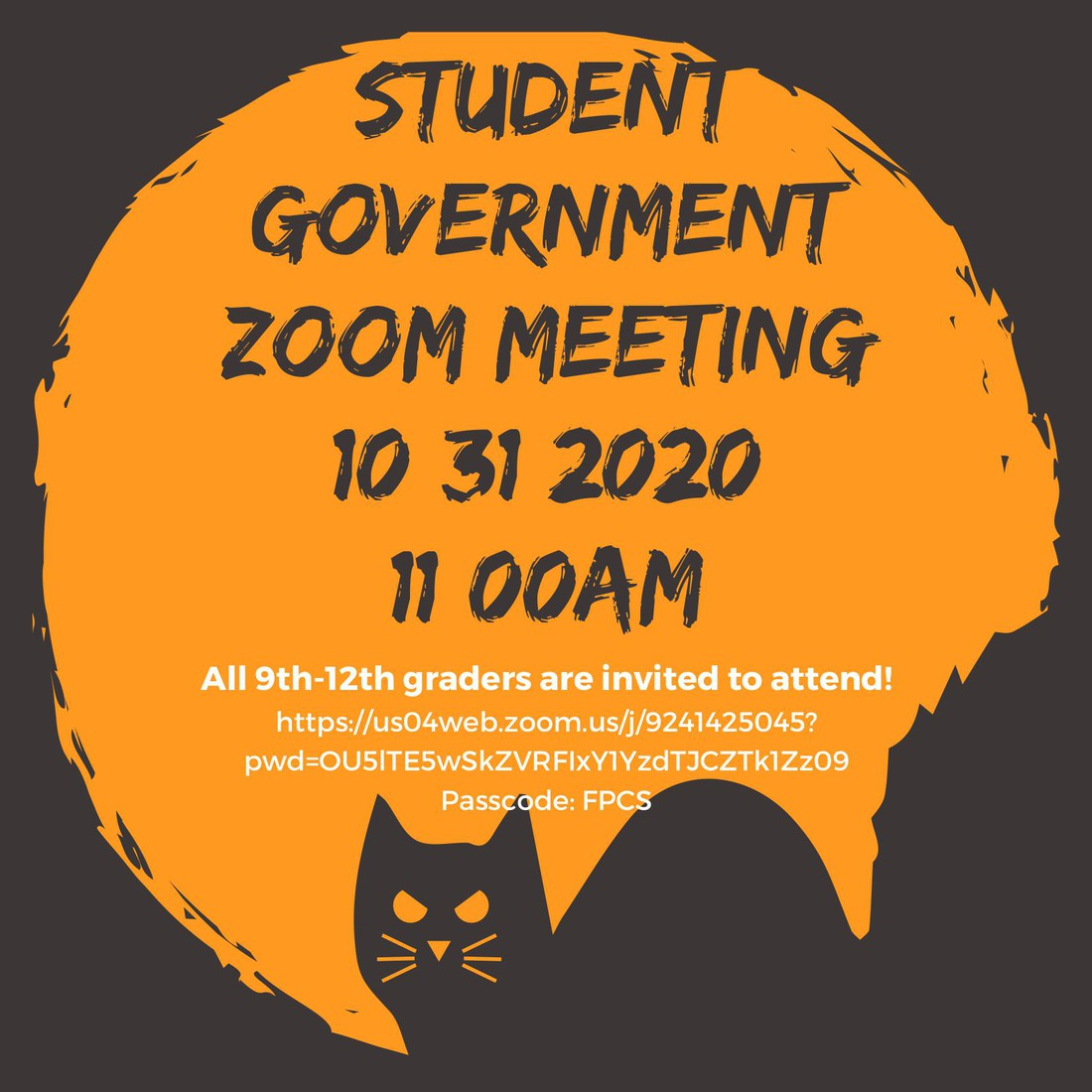 spooky government zoom mtg