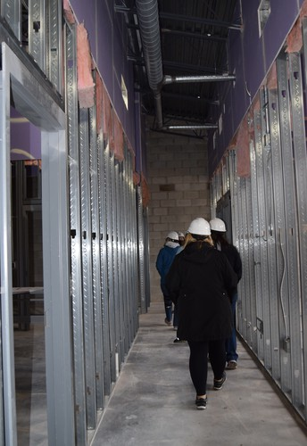 Elementary Staff Tours New Building