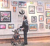 An exhibit featuring the works of VSA arts RI artists with disabilities