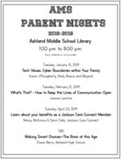 AMS Parent Nights