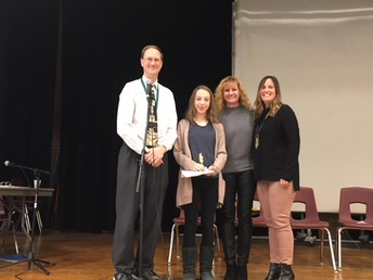 Congratulations to Sarah Boylan, the 2018 Spelling Bee Champion