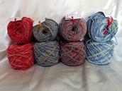 80/20 Romeldale/CVM wool & Nylon Blend
