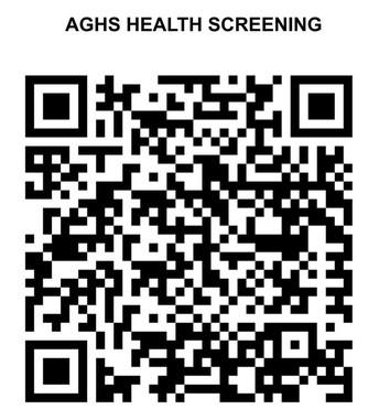 Health Screener QR Code