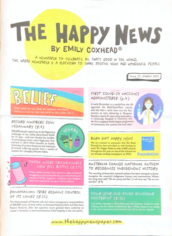 Happy News Competition Open until May 30th