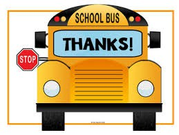 Bus Driver Appreciation Week - Oct 22-26
