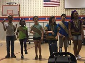 """2nd Grade performs """"Americans All""""!"""