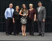 Mrs. Tibbetts honored as Teacher of the Year!